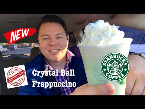 Starbucks Crystal Ball Frappuccino Drink Review
