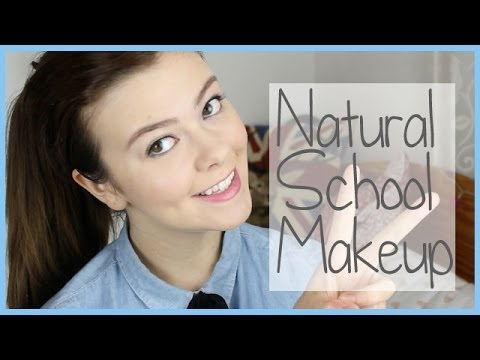 Simple, Natural-Looking School Makeup for Strict Schools!