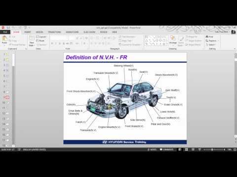 Hyundai Step III 2007 : Noise, Vibration & Harshness
