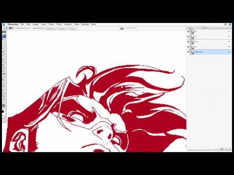 Digi-Art Tutorial: Eliminating White Pixels in Photoshop