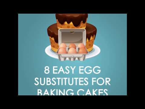 8 Easy Egg Substitutes for Baking Cakes
