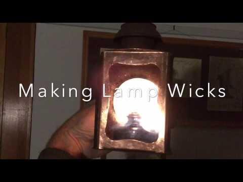 Making Lamp Wicks part 1