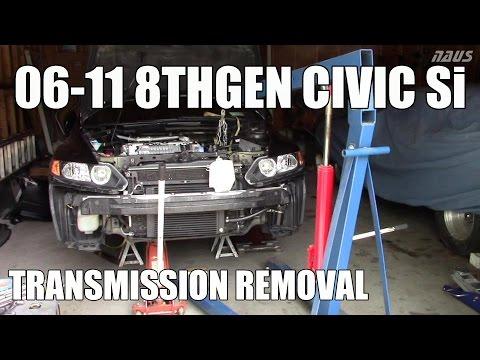 8thgen Honda Civic Si Transmission Removal - 06-11 FA5 FG2