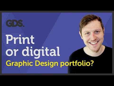 Print or digital graphic design portfolio? Ep34/45 [Beginners guide to Graphic Design]