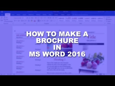 Microsoft Word 2016 Essential Training | Brochure