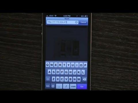 Manually Inputting an IP Address Into an iPhone : Tech Yeah!