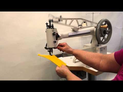 Singer Long arm PATCHING machine