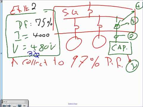 Capacitor Sizing for Power System & Motors 02 12 13