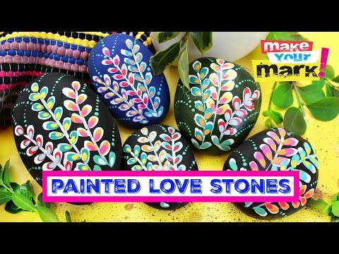 Painted Love Stones