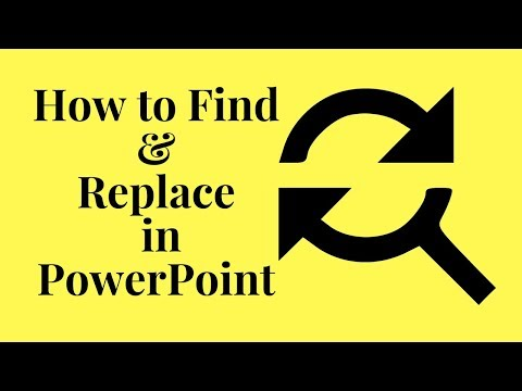 How to Find and Replace in PowerPoint | Find and Replace software