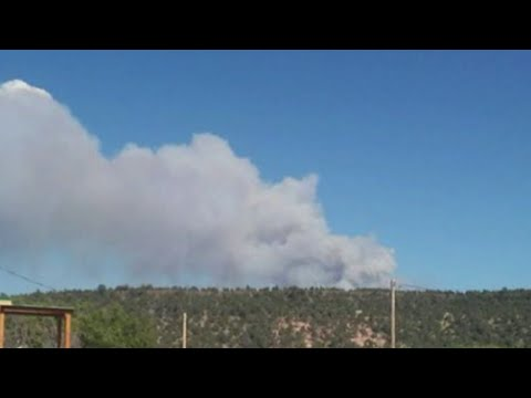 New Mexico battles wildfires during Memorial Day weekend