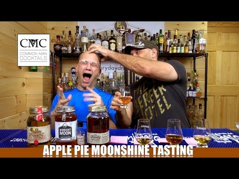 Firefly, Ole Smoky, Midnight Moon and Grandma's Apple Pie Moonshine Review / Tasting
