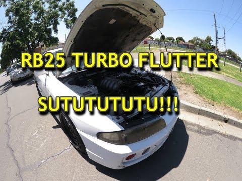 RB25 TURBO FLUTTER SUTUTUTUTUUU! ( ͡° ͜ʖ ͡°)