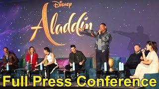 Download ″Aladdin″ Press Conference with Will Smith, Alan Menken, Mena Massoud, Guy Ritchie + Video