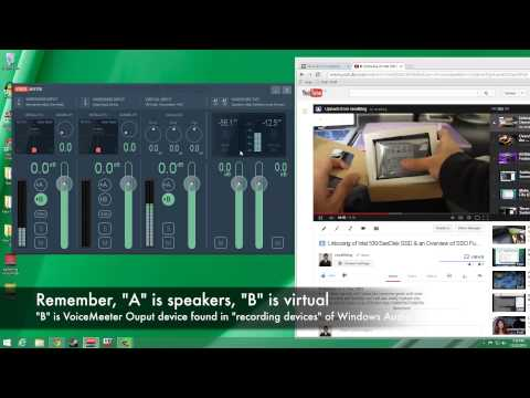 Using VoiceMeeter to Capture System Audio & Mic. Input Simultaneously (Windows Tutorial)