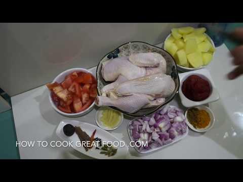 Chicken Stew Recipe - Arabic Middle Eastern Style