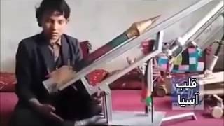 حسین داد ۱۵ ساله موفق به ساخت موشک شد