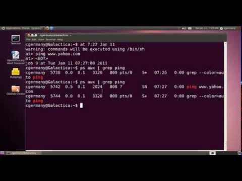 Scheduling Tasks in Linux