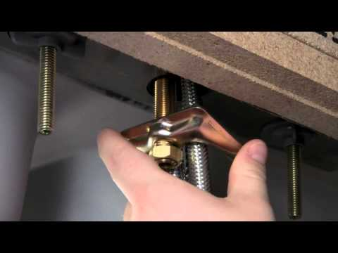 How to install a Kitchen Faucet with Pull-Down Sprayer