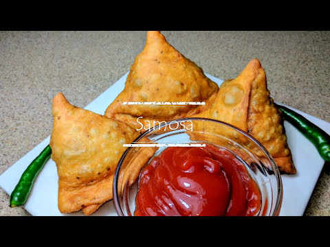 Samosa Recipe - Crispy & Spicy - Best Indian Samosa You'll Ever Make