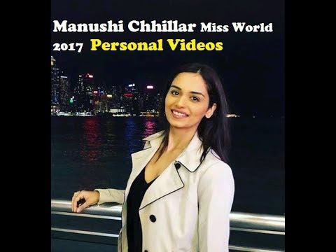 Manushi Chhillar Miss World 2017 Personal Videos