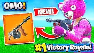*NEW* Fortnite DRUM GUN GAMEPLAY! - Fortnite Battle Royale