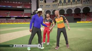 Don Bradman Cricket 17 Ipl Sunrisers Hyderabad V Royal Cha