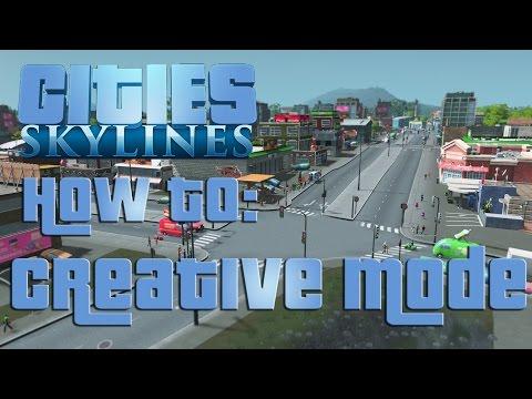 Cities: Skylines - Creative Mode