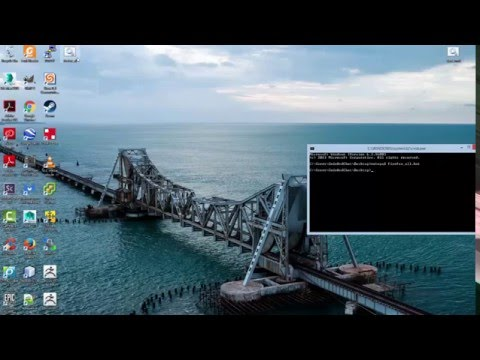 Making .bat File To Open Web Browser