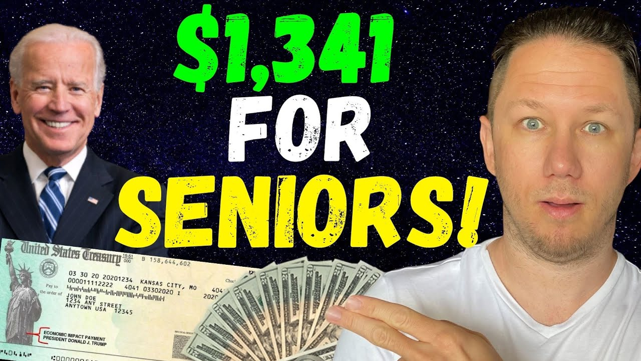 Joe Biden's $1,341 Social Security Raise!! & Fourth Stimulus Check Update