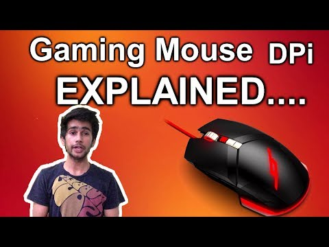 [HINDI] - WHAT is DPi in Computer mouse | GAMING Mouse dpi explained |
