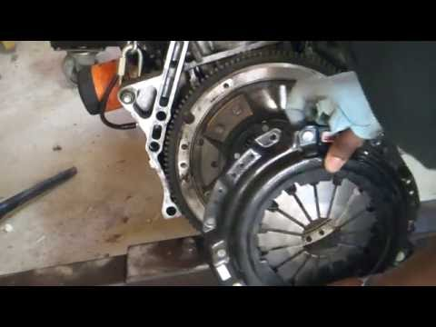 Fully Built H22 Turbo CB7 Accord  Project series: - Clutch Removal DIY