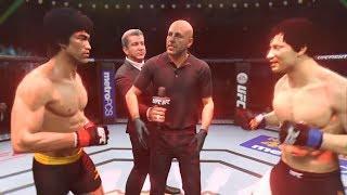 🐉Bruce Lee vs. Jackie Chan (EA Sports UFC 2)