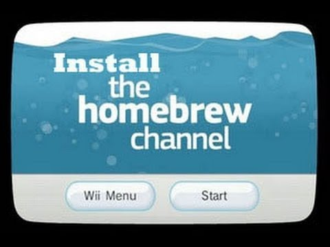 Install The Homebrew Channel Wii 4.3U