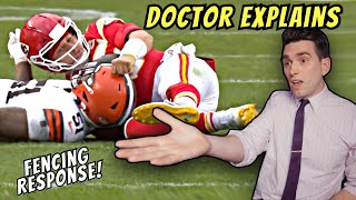 Patrick Mahomes SCARY Concussion! Doctor Reacts to Hit & Controversial Missed Call