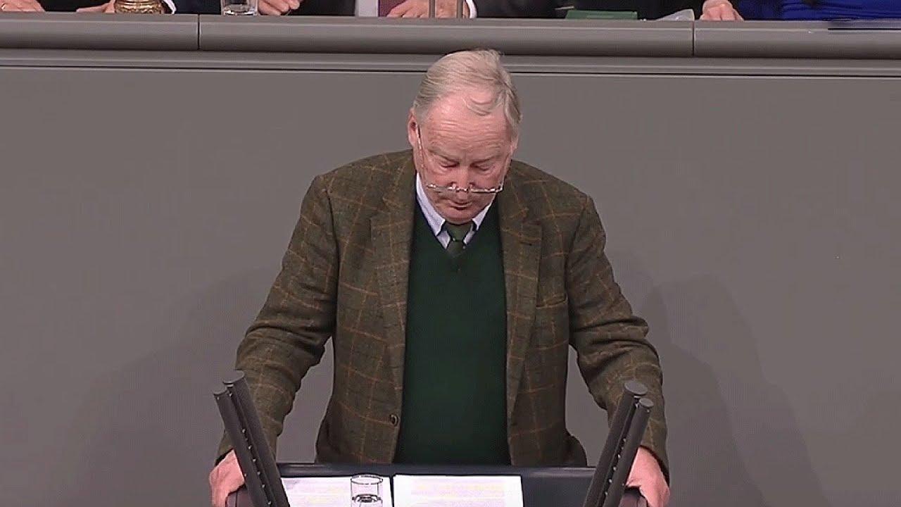 Generaldebatte im Bundestag: Rede von Alexander Gauland vom 21.11.2018