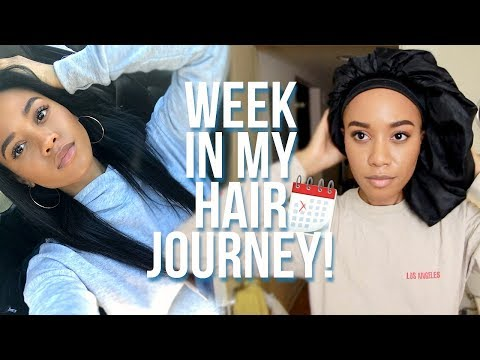 Week In My Hair Journey Ep. 8 | My Hair Grew!
