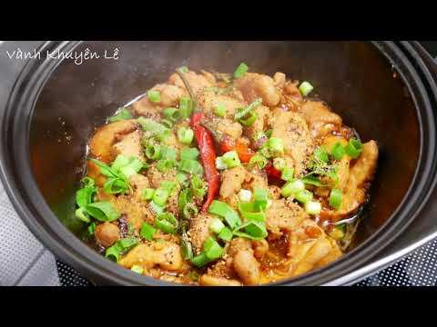 Gà Kho, Gỏi Gà - Cách làm món Gà kho tiêu và Gỏi Gà Bắp Cải thơm ngon by Vanh Khuyen