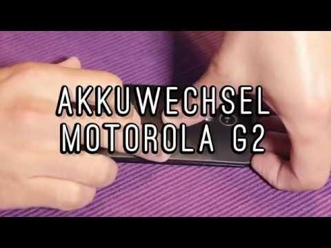 Akkuwechsel Moto G2