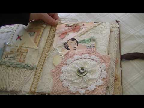 Sewing Themed Fabric & Paper Journal