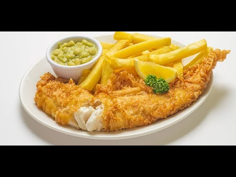 Fish & Chips Indian Style