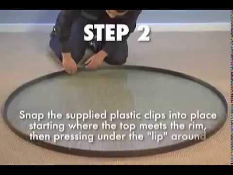 Tropitone® How To - Replace a Table Top