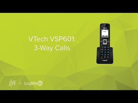VTech VSP601: 3-Way Calls