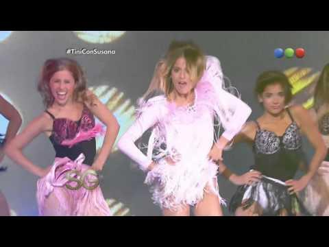 Martina Stoessel baila en el último programa – Susana Giménez 2014
