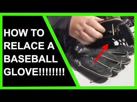 How To Relace A Baseball Glove [THE RIGHT WAY]