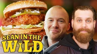 Download Harley Morenstein and Sean Evans Review Fast-Food Mashups | Sean in the Wild Video