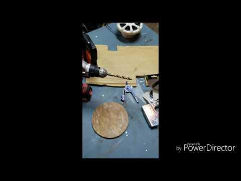 How to build a fiberglass speaker box cheap.