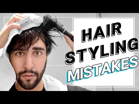 Hair Styling Mistakes / Habits That Could Ruin Your Hair! ✖ James Welsh