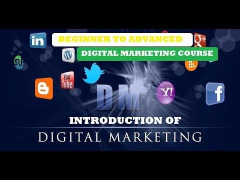 Digital Marketing Tutorial For Beginner | #1 Introduction