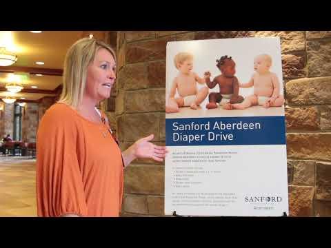 Sanford Aberdeen hosts diaper drive